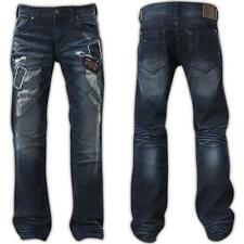NEW Affliction Blake Liberty Redwood Blue Jeans 110RS166 MSRP: $155.00 Size 42