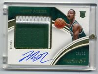 2015-16 Immaculate TERRY ROZIER Rookie Card RC AUTO AUTOGRAPH PATCH #/25 Celtics