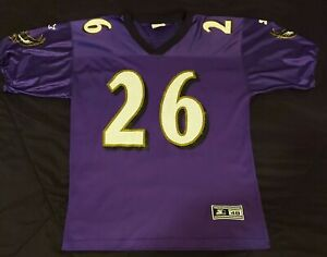Starter NFL Baltimore Ravens Rod Woodson #26 NFL Football Jersey (Mens L) Sz 48