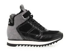 Sneakers CESARE PACIOTTI 4US FD9 in camoscio acciaio - Scarpe Donna