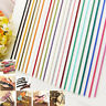 Mixed 1M Leather Cord Suede Lace Jewelry Making/Beading/Thread Flat Craft 3mm