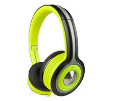 New Monster iSport Wireless Bluetooth On-Ear Headphones Green