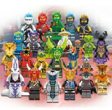 Neu 24 Stk Ninjago Mini Figuren Kai Jay Sensei Wu Master Bausteine Spielzeug