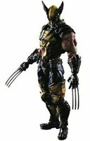 MARVEL UNIVERSE VARIANT PLAY ARTS Kai Wolverine PVC painted action figure