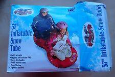 "Flexible Flyer Snow Twist 57"" Inflatable Snow Tube"