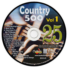 KARAOKE CHARTBUSTER CD+G COUNTRY 500 CB8532 VOL.1 DISC # 25