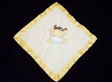 Kidsline Yellow Giraffe Baby Blanket Satin Jungle Safari Security Lovey