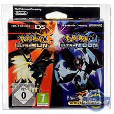 Protector de la caja del juego para Nintendo 3 Ds Pokemon Ultra Luna Sol Dual Fan Edition 0.5 M