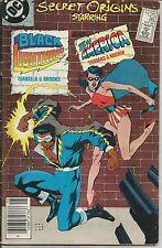 DC COMICS SECRET ORIGINS #26 BLACK LIGHTNING and Miss AMERICA 1988