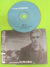 CD Singolo JUSTIN TIMBERLAKE CRY ME A RIVER 2002 JIVE 9254562 no mc lp vhs (S33)