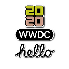 WWDC Apple 2020 Stickers Mac iPad iPhone