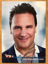 Guido Maria Kretschmar AK Das Supertalent Autogrammkarte original signiert