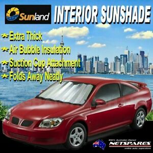 Extra Extra Large Sun Shade Silver Thick Car Windscreen Interior UV Sunshade