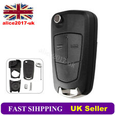 2 Button Remote Key Fob Case For Vauxhall Opel Astra H Corsa C Zafira B Combo