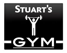 Gym Personalised Metal Decorative Plaques & Signs