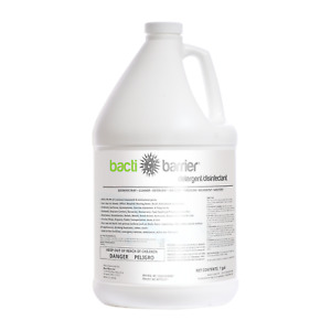 BactiBarrier, Antimicrobial, Detergent And Disinfectant, 1 Gallon