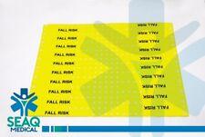 Medical Fall Risk Wristband – 20 Pcs - Color Yellow - SEAQ Medical