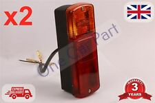 2 x Stop/Tail Indicator Rear Lamp/Lights - Fits JCB 3CX 4CX Project Digger