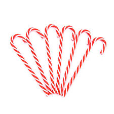 6 Xmas Tree Candy Cane Hanging Ornament Decoration Christmas  Party Decor  LE