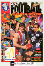 POPULAR-1999 Select AFL Stickers Official Album-Rare