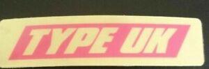 Subaru impreza Blobeye Bugeye Type UK intercooler Badge Sticker 100% genuine OEM