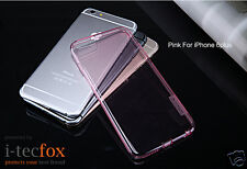 iPHONE 6 PLUS / 6S PLUS GEL COVER PINK - SILIKON SCHUTZ HÜLLE, TPU CASE, BUMPER