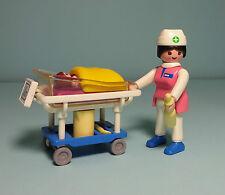 Playmobil sauvetage/Rescue ~ Nourrisson sœur/Pediatric Nurse (3979)