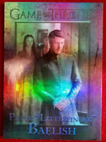 "GAME OF THRONES Season 4 FOIL PARALLEL Card #33 ""LITTLEFINGER"" - Rittenhouse"