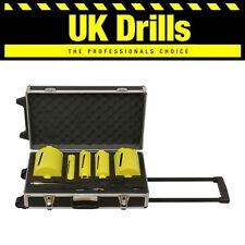11 PIECE PC DIAMOND TURBO CORE DRILL SET - LASER WELDED