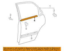 TOYOTA OEM Camry Rear Window/Door-Belt Molding Weatherstrip Right 7573033040