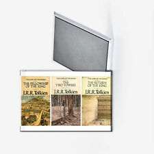Lord of the Rings Trilogy Book Covers Refrigerator Magnet 2x3 JRR Tolkien