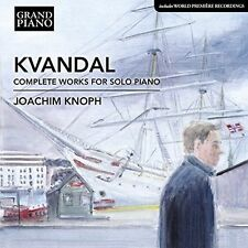 Kvandal Complete Piano Works Joachim Knoph Grand Piano Gp739 Audio CD
