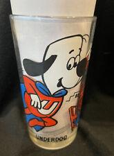 Vintage Underdog Warner Brothers Cartoon Glass Pepsi Collector Series 1970's