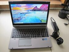 "HP Elitebook 8570P/2.6ghz Core i5 3rd gen/8GB/180GB SSD/DVD/15""/W10P-NICE!"