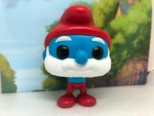 D The Smurfs Movie Papa Smurf Funko Pop Figure Rare