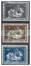 VATICANO - 1960 -  NATALE   SERIE  USATA