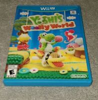 Yoshi's Woolly World (Wii U, 2015)- Tested Works Great!