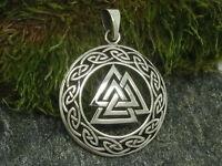 Wotans Knoten 925er Silber Anhänger Amulett keltischer Knoten wotans knot