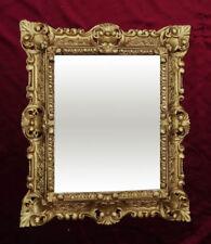 Espejos decorativos rectangulares sin marca dorado para el hogar