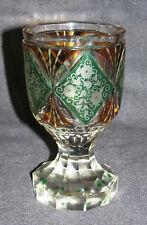Fußbecher probablement Bohême pour 1840 me Haida Moser Bohème