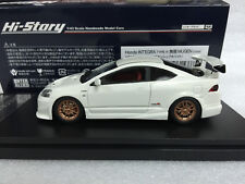 1:43 HI STORY HS154WH HONDA INTEGRA TYPE-R MUGEN DC5 scale model car ACURA RSX