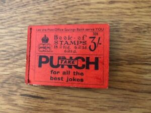 Rare Vintage Old British Book Of Stamps