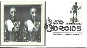 First Day Cover SC#5581 Star Wars Droids 2-1B May 4 2021