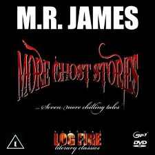 M R JAMES MORE GHOST STORIES (DVD) Christmas Log Fire Fireplace Story MR Virtual