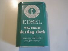 Vintage Edsel Nos Wax Treated Dusting Cloth B8E-19517-A