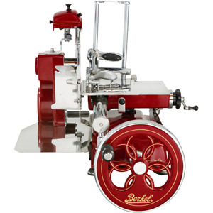 Berkel Tribute Volano rot Original Prosciutto Schwungradmaschine