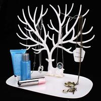 Jewelry Necklace Ring Earring Tree Stand Display Organizer Holder Show Rack B ZH