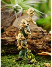 Miniature Fairy Garden Pixies Stack - Buy 3 Save $5