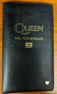 """Queen GERMANY EMI THE 3"""" CD SINGLES COMPLETE L.E. OF 555: SERIAL # 36 SUPERB"""