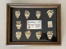 Complete Set World Cup Soccer All 9 Venues Pin Set 1994 USA